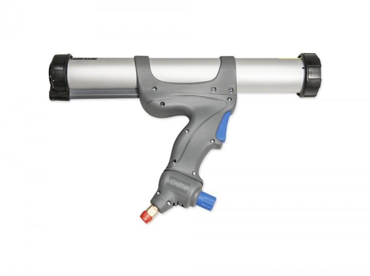 Пневматический пистолет Soudal для герметиков и клеев в колбасах по 400/600 мл