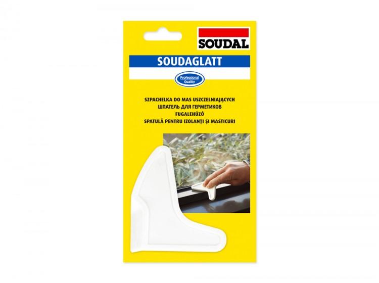 Soudaglatt, многоразовый каучуковый шпатель Soudal для герметиков с 4 рабочими кромками