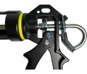 Soudal Pro, черный усиленный скелетный пистолет для герметиков, клеев, хим анкеров в тубах по 270-310 мл