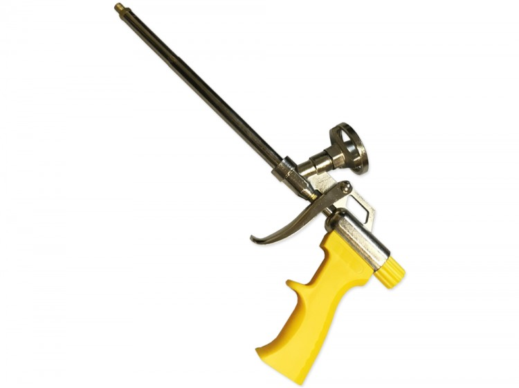 Biber, желтый пистолет для монтажной пены